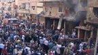 Deadly car bombing rocks Damascus