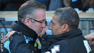 Paul Lambert and Chris Hughton