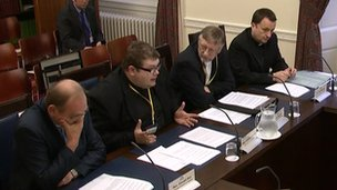 Churchmen at Social Development Committee