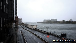 East 72nd Street, at the end by the FDR Drive