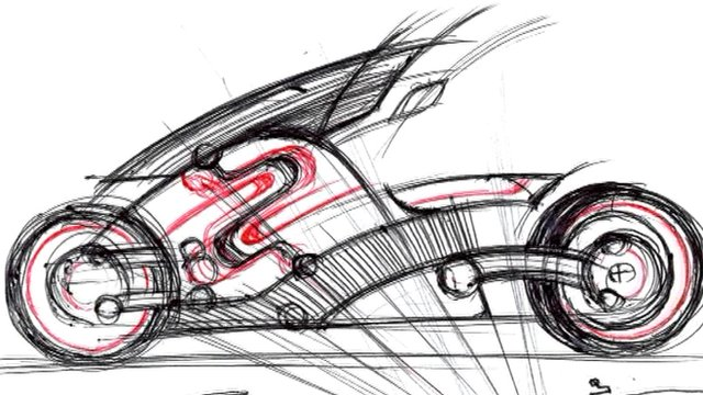 Zecoo bike sketch