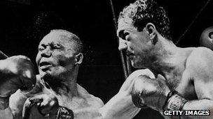 Rocky Marciano in 1952