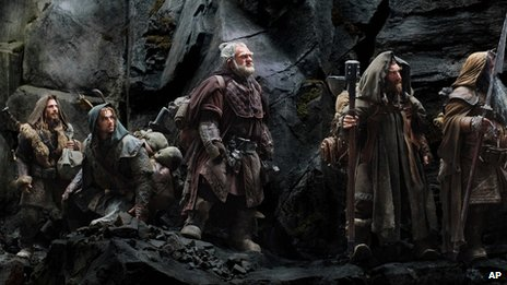 Scene from The Hobbit: An Unexpected Journey