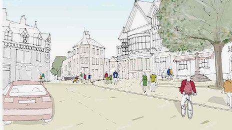 Plans for new Altrincham