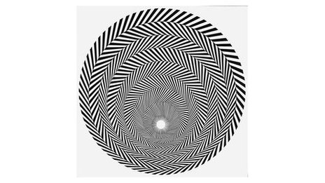 Bridget Riley, Blaze 4, 1963. © 2012 Bridget Riley. Courtesy Karsten Schubert, London