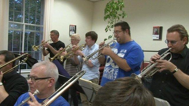 Members of the big band