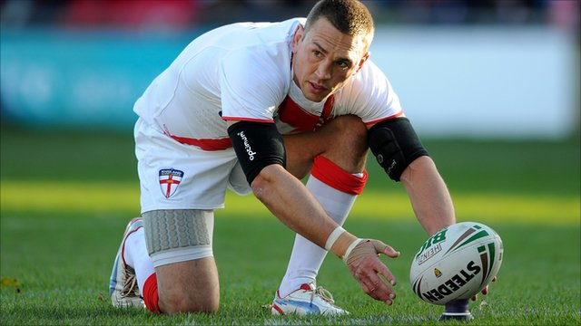 Kevin Sinfield of England