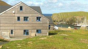 The new Bird Observatory on Fair Isle