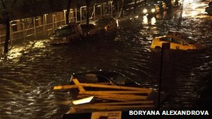 The FDR Drive under water. Photo: Boryana Alexandrova