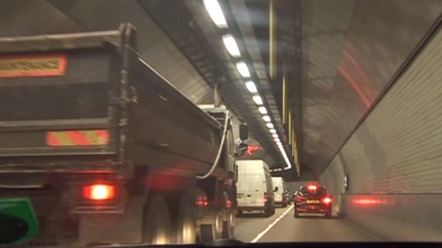 Inside the Blackwall Tunnel