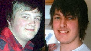 Neil McFerran and Aaron Davidson died from suspected carbon monoxide poisoning