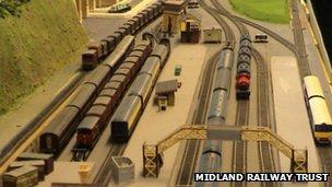 Model railway track