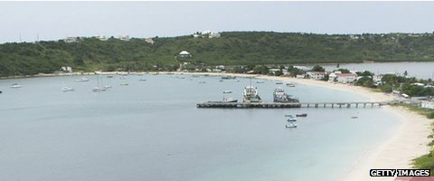 Anguilla coastline