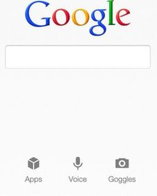 Google's voice-activated search app