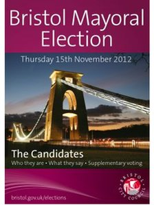 Bristol mayor election booklet