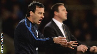 Dougie Freedman (l) and Malky Mackay