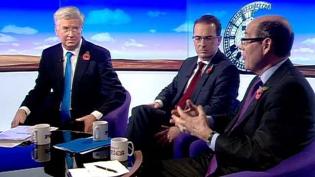 Michael Fallon, Owen Smith and Nick Robinson
