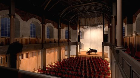 Artist's impression of St George's Theatre auditorium