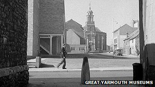 St George's view in 1955