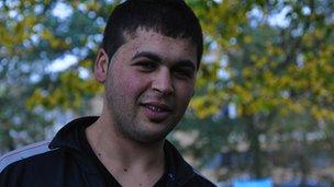 Bowan, an Iraqi refugee in The Hague, the Netherlands