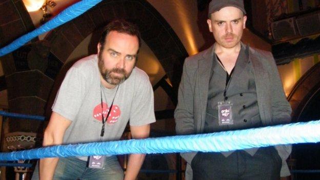 Greg Hemphill and Robert Florence