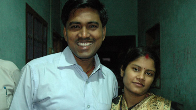 Sushil Kumar and wife Seema