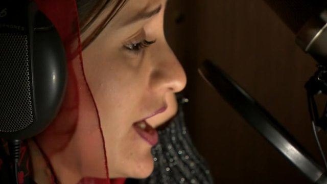 Afghanistan's first female rapper
