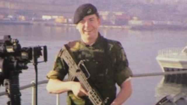 Leading Seaman Timmy MacColl