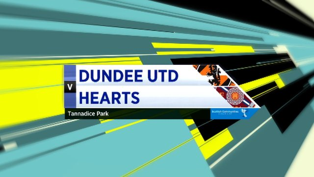 Highlights - Dundee Utd 1-1 Hearts (4-5 pens)