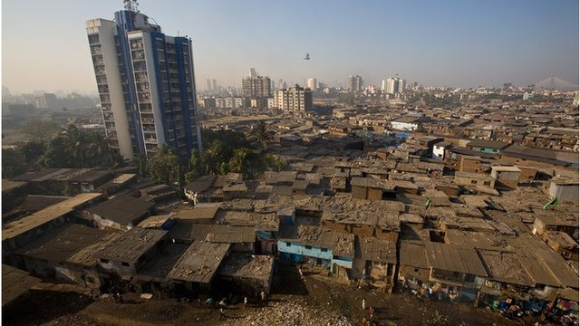 India slum