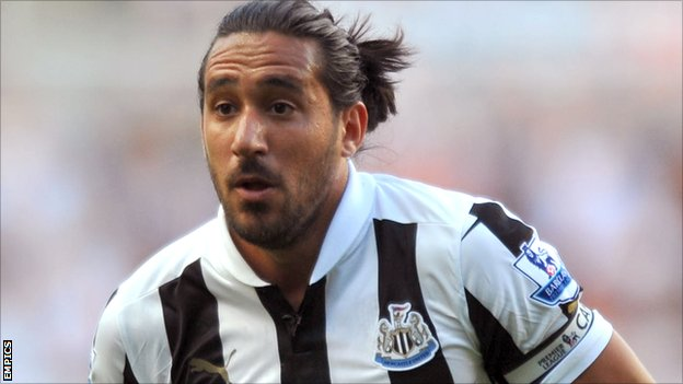 BBC Sport - JONAS GUTIERREZ: Newcastle United are a marked side