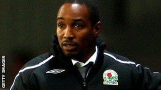 Paul Ince as Blackburn manager