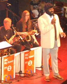 Gregory Porter with the big band