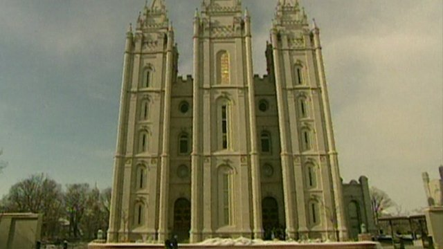 Mormon temple in Lancashire