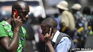 Kenya mobile phone users