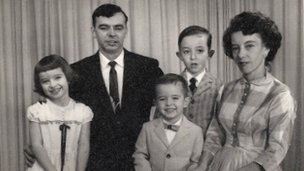 Doreen Heath with husband Duane and their children