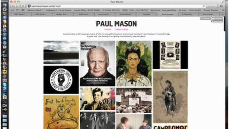 Paul Mason Tumblr page