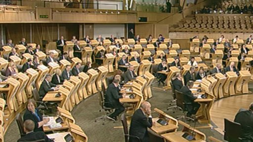 MSPs pass the motion from the drink driving debate