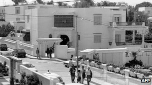 Villa in Tunis where Abu Jihad was killed. 1988