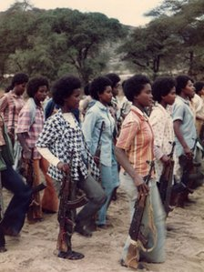 EPLF women fighters