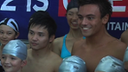 Qiu Bo and Tom Daley