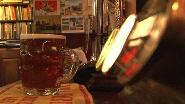 The average pint in a pub now costs £3.19