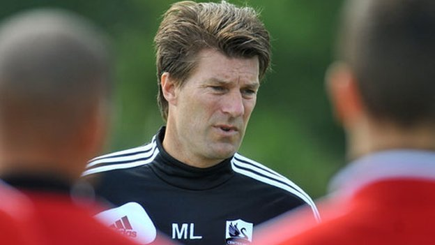 Swansea's manager Michael Laudrup