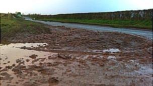A417 between Burley Gate and Bodenham