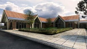 Artists impression of Jack Berry House. Picture: Injured Jockeys Fund