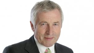 Broadcaster Jonathan Dimbleby