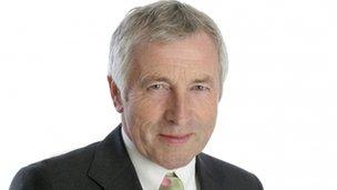 Broadcaster Jonathan Dimbleby