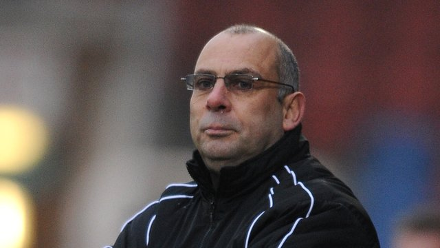 Woking manager Garry Hill