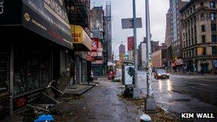 A street in New York, Photo: Kim Wall