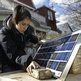 Teacher sets up solar charging station made by her pupils for residents of the Rockaways, New York